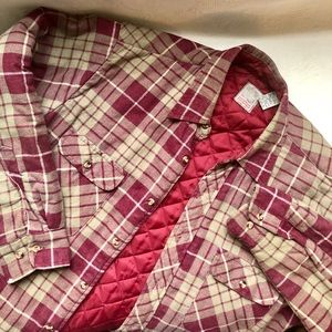 Vintage Outdoor Exchange Flannel Button Down